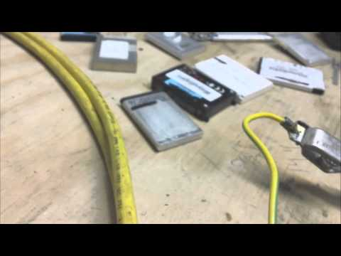 Pulse charging a lithium ion battery