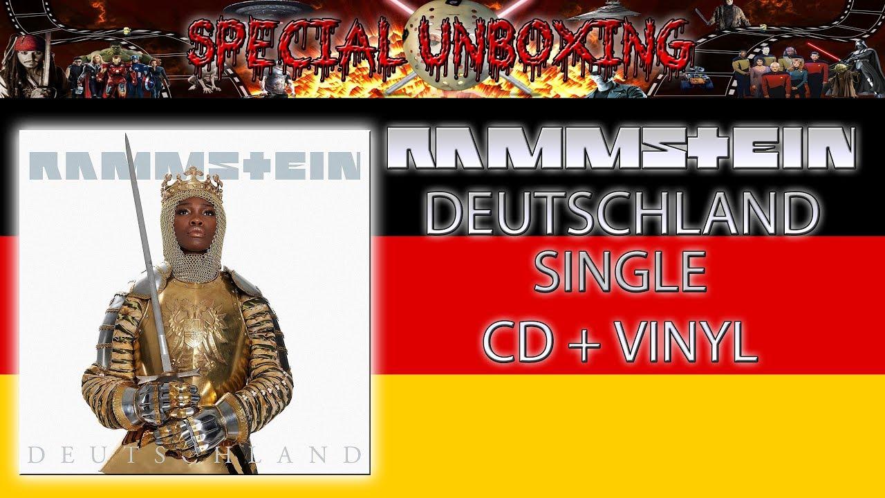 rammstein deutschland single vinyl)