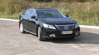 Toyota Camry 2012 2.5 AT Обзор от владельца! Тесты и выводы!(, 2015-10-27T21:43:46.000Z)