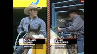Michael Jones Roping
