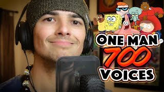 One Man, 700 Voices | Mikey Bolts