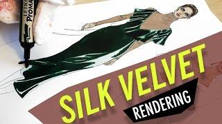 SILK VELVET RENDERING Valentino F