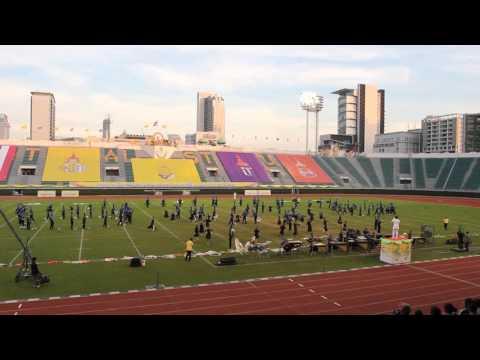 Marching Band Bontang Pupuk Kaltim Thailand International Royal Trophy Band Competition 2016
