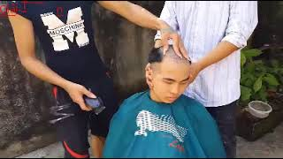 troll cắt tóc bá đạo! p1