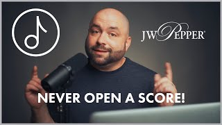 The Best Way to Find Sheet Music Online - MINTS from J.W. Pepper