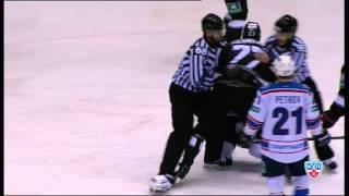 Бой КХЛ: Пиганович VS Голубев / KHL Fight: Piganovich VS Golubev