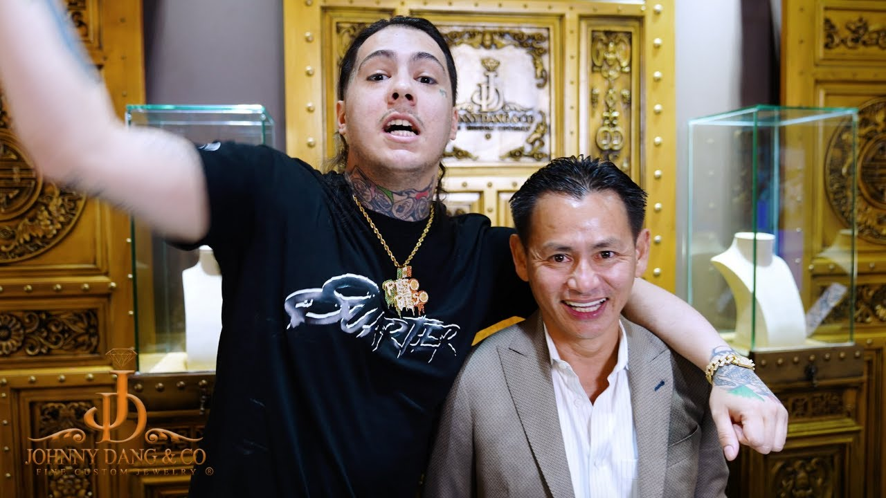 Peso Peso fresh off tour drops a bag on new Grill with Johnny Dang!!