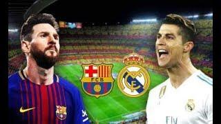 خلاصه بازی بارسلونا با ریال مادرید 2018 / Barcelona VS RealMadrid 2018