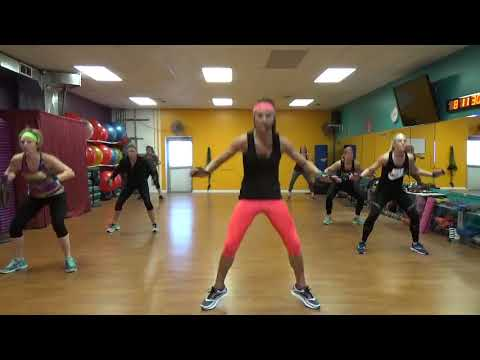 45 minutes of Cardio Kickboxing - (No Equipment)