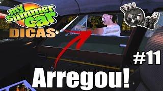 My Summer Car - O Doido do Carro Verde Arregou pro Racha! #11 (G27 mod)