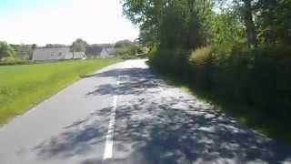 BYCYCLE TO AJSTRUP NEAR AARHUS IN DENMARK