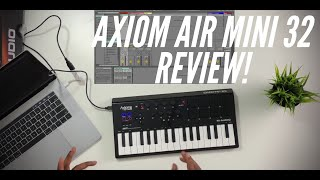 M-Audio Axiom Air Mini 32 Review(2019)