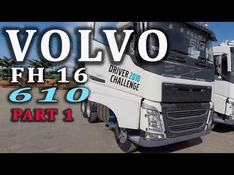 DRIVING VOLVO FH 16 610 6X4T [mobilisation] Part 1