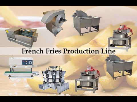 200kg/h French Fries Production Line | French Fries Processing Plant