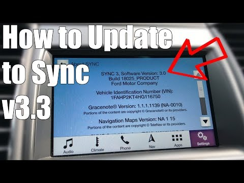How To Update Your Ford Sync 3 To Version 3 All 2017 Ford Vehicles Youtube
