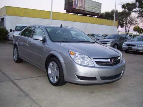 used 2008 Saturn sedans in Ocala Florida #352-694-1234