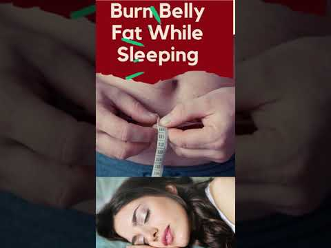 How To Lose Belly Fat (While Sleeping) #Shorts
