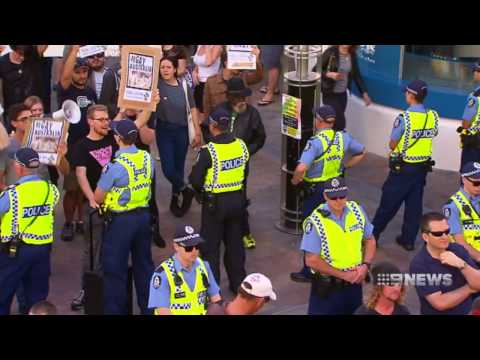 Police Unrest | 9 News Perth