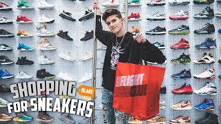 Blake Linder Goes Shopping For Sneakers At Flight Club