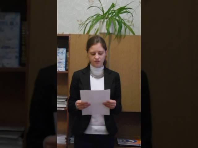 Яна Ширшицкая читает произведение «Деревенский нищий» (Бунин Иван Алексеевич)