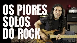 Os piores solos do Rock
