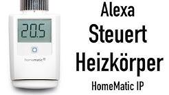HOMEMATIC IP: ALEXA REGELT DIE HEIZKÖRPER!!