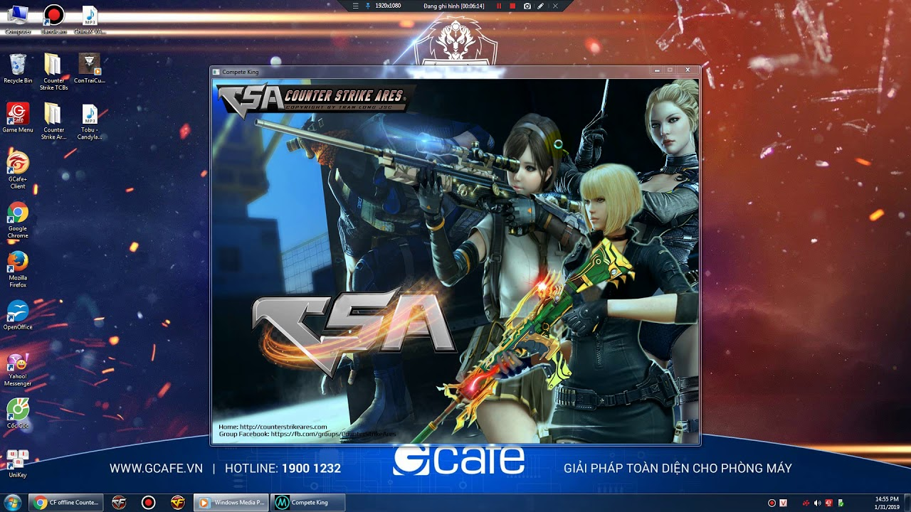 HD tải vs chơi cf offline giống cf online nhất (Counter Strike Ares Lutant)