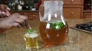 North African Mint Iced Green Tea