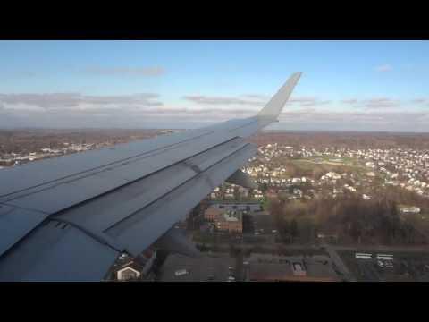 American Landing in COLUMBUS Int. Airport.
