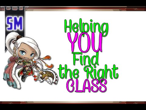 MapleStory: Helping You Find the Right Class!