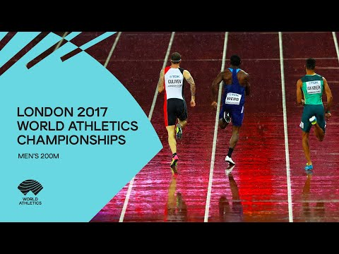 Men's 200m Final | IAAF World Championships London 2017