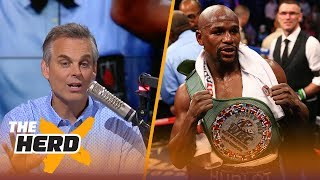 Floyd Mayweather beat Conor McGregor, but everybody won on Saturday night | THE HERD