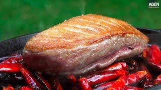 French Duck al Sichuan - Cast-Iron Pan