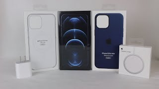 iPhone 12 Pro Max (Pacific Blue) & MagSafe Accessories Unboxing!
