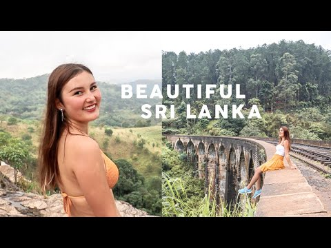 Sri Lanka is Incredible! Diyaluma Falls, Nine Arch Bridge & Elephant Safari⎮Travel Vlog