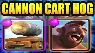 HOG RIDER CANNON CART DECK ARENA 11 BEST LEGENDARY ARENA DECK - CLASH ROYALE STRATEGY