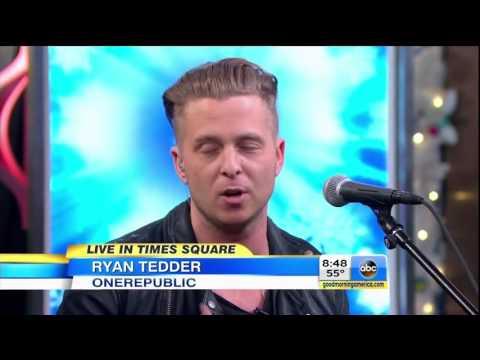 OneRepublic interview + I Lived (live @ GMA)