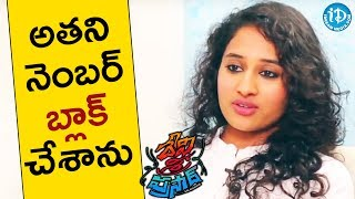 I Blocked His Phone Number - Pooja Ramachandran || Talking Movies || #DeviSriPrasad