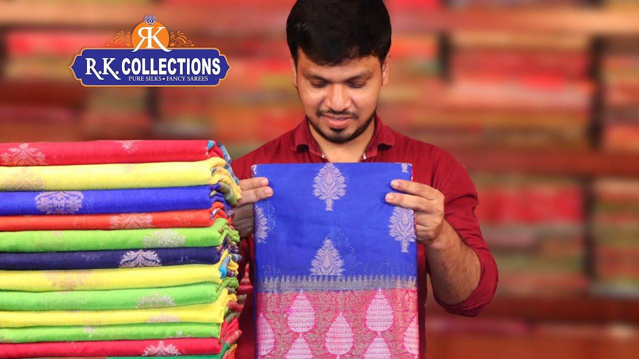 Rs. 500 TO Rs.2000 Worth Sarees Collection I Rkcollections I