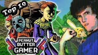 Top 10 Masks in Majora's Mask! - PBG