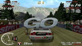 Sega Rally 2 - PC Gameplay DEMO