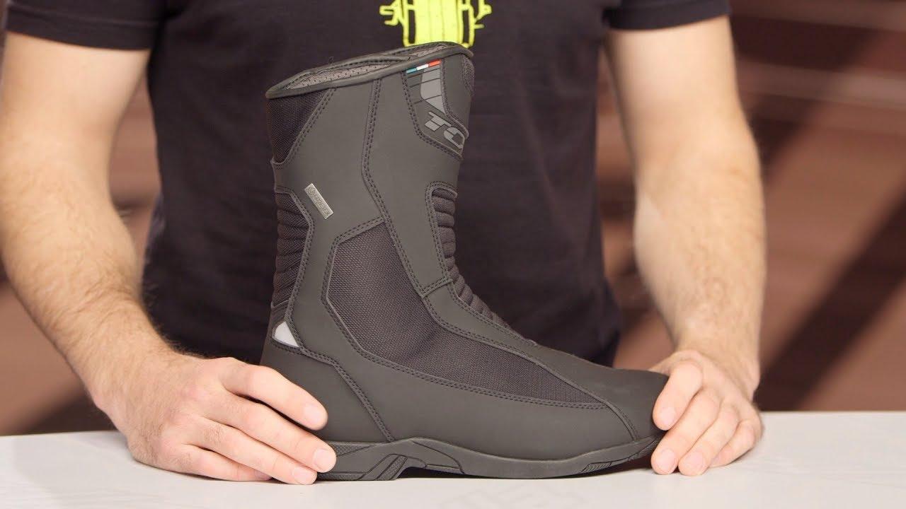 Black 43 TCX Explorer Evo GTX Gore-Tex Waterproof Motorcycle Touring Boots