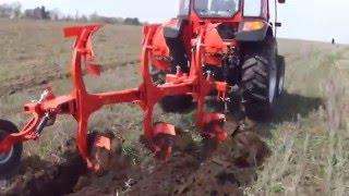 tractor dong feng 804 in ansamblu cu plug aydin reversibil
