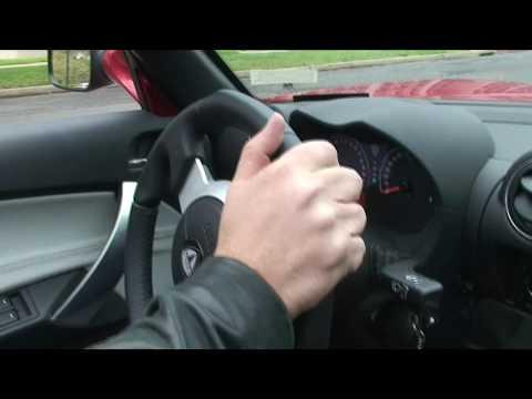 Tesla Roadster - Driving in Canberra