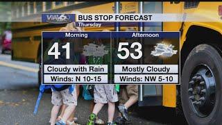 Bus Stop Forecast Thursday, November 15, 2018