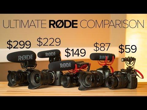 Every Rode Shotgun Video Mic Compared! $59 - $299