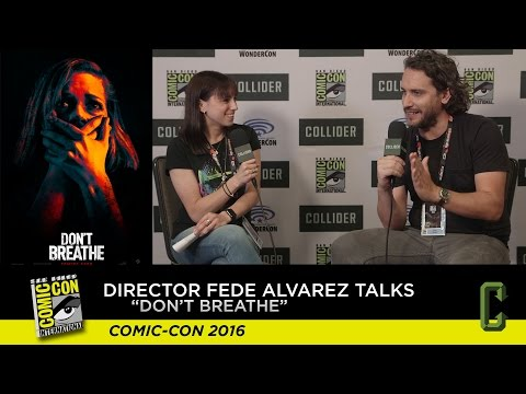 "Director Fede Alvarez Talks ""Don't Breathe"" - San Diego Comic-Con 2016"