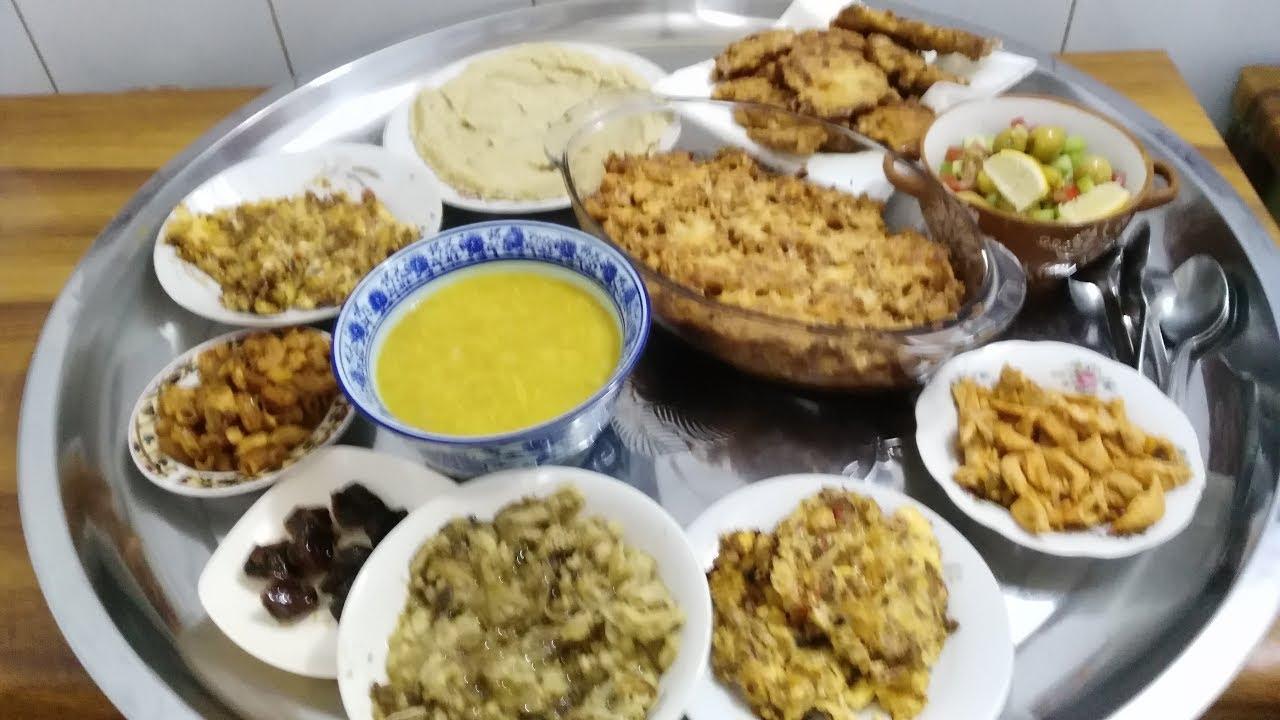 فطور لليوم الثاني اكلات رمضان Youtube