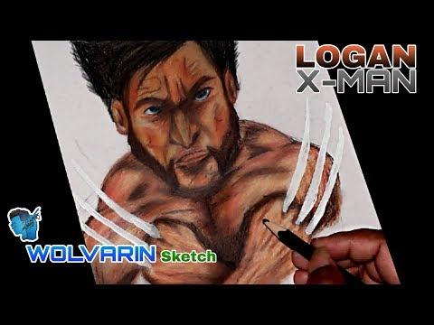 Wolvarin Colour Sketch/Logan Drowing/Tutorial Step by Step/Marvel Studios/Subham GALLERY thumbnail