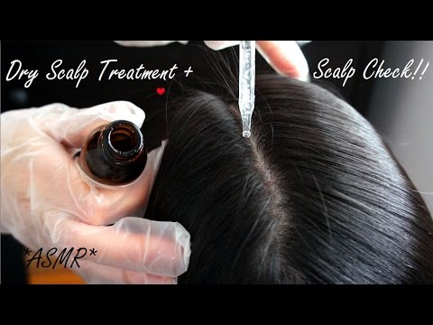 ASMR SCALP TREATMENT + SCALP CHECK IN SECTIONS + BRUSHING OUT KNOTS (REAL PERSON + VERY RELAXING)!